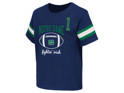 Notre Dame Fighting Irish NCAA Toddler Pigskin Football T-Shirt