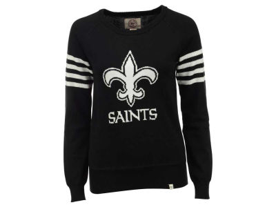 New Orleans Saints '47 NFL Women's Drop Needle Sweater