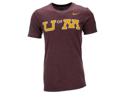 Minnesota Golden Gophers Nike NCAA Men's Triblend Logo Plus T-Shirt