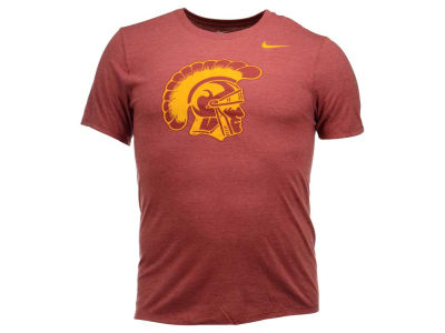 USC Trojans Nike NCAA Men's Triblend Logo Plus T-Shirt