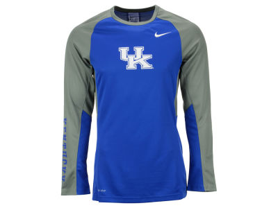 Kentucky Wildcats Nike NCAA Men's Elite Shootaround Long Sleeve T-Shirt