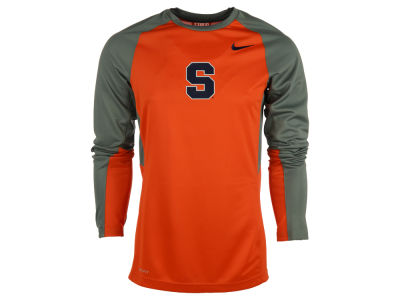 Syracuse Orange Nike NCAA Men's Elite Shootaround Long Sleeve T-Shirt