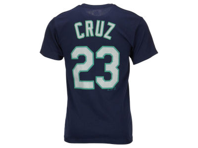 Seattle Mariners Nelson Cruz Majestic MLB Men's Official Player T-Shirt