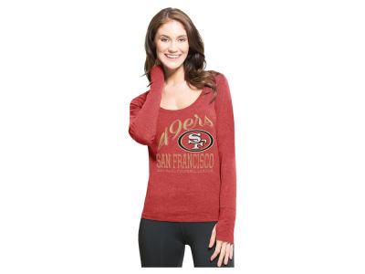 San Francisco 49ers '47 NFL Women's Dash Long Sleeve T-Shirt