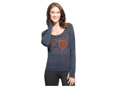 Chicago Bears '47 NFL Women's Dash Long Sleeve T-Shirt