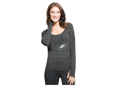 Philadelphia Eagles '47 NFL Women's Dash Long Sleeve T-Shirt
