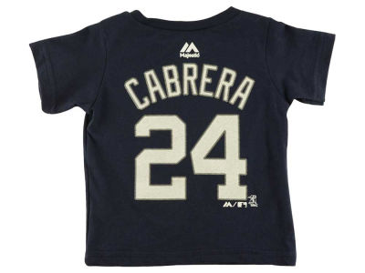 Detroit Tigers Miguel Cabrera MLB Toddler Player T-Shirt