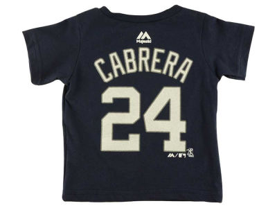 Detroit Tigers Miguel Cabrera MLB Infant Player T-Shirt