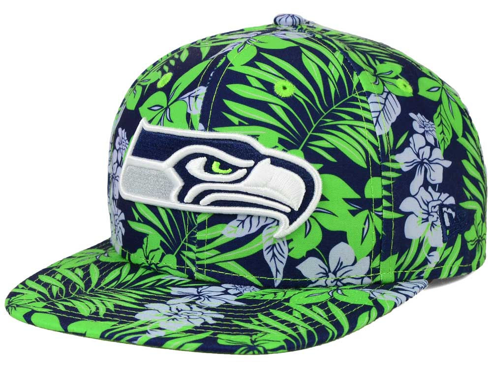 Seattle Seahawks New Era NFL Wowie 9FIFTY Snapback Cap  30d5a2539