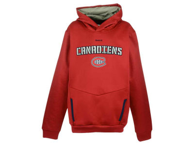 Montreal Canadiens NHL Youth Shadow PO Hoodie