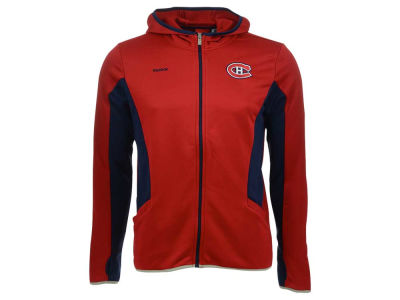Montreal Canadiens NHL Youth Strike Full Zip Hoodie