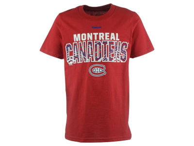 Montreal Canadiens NHL Youth Double Edge Zubaz T-Shirt