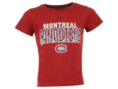 Montreal Canadiens NHL Toddler Double Edge Zubaz T-Shirt