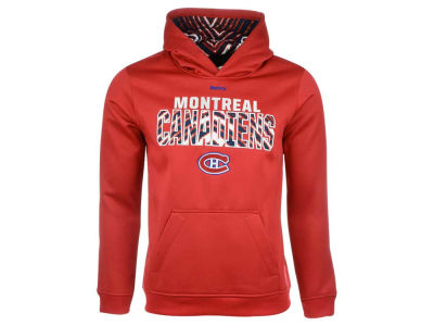 Montreal Canadiens NHL Youth Zebra Zubaz Hoodie