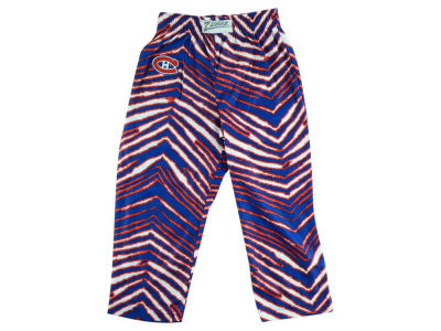 Montreal Canadiens NHL Toddler Zebra Zubaz Pajama Pants