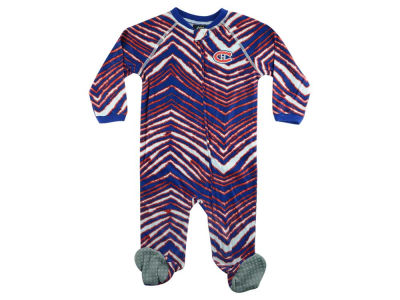 Montreal Canadiens NHL CN Infant Zubaz Full Zip Coverall