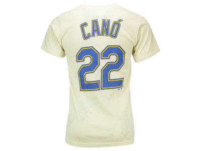 Seattle Mariners Robinson Cano Majestic MLB Men's Official Player T-Shirt