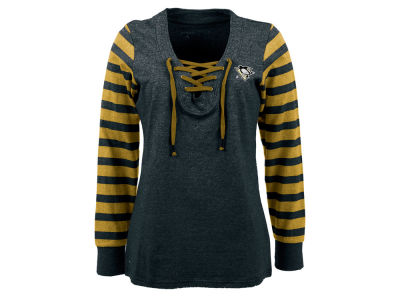 Pittsburgh Penguins NHL Women's Rumble Long Sleeve Fleece Sweatshirt