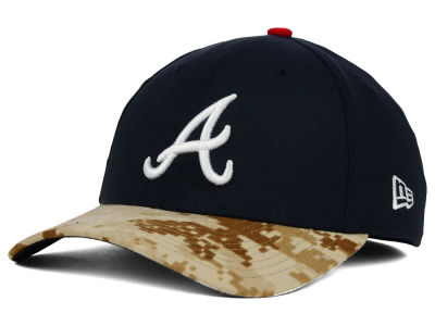 Atlanta Braves New Era MLB 2015 Memorial Day 39THIRTY Cap