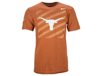 Texas Longhorns Nike NCAA Varsity Stripe Triblend T-Shirt