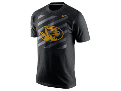 Missouri Tigers Nike NCAA Varsity Stripe Triblend T-Shirt