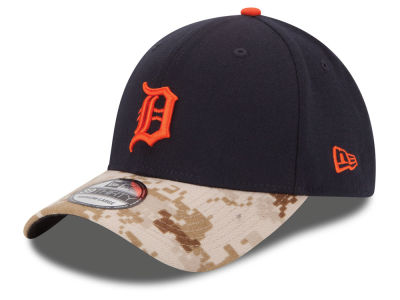 Detroit Tigers New Era MLB 2015 Memorial Day 39THIRTY Cap