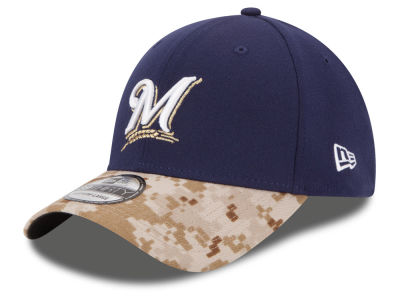 Milwaukee Brewers New Era MLB 2015 Memorial Day 39THIRTY Cap