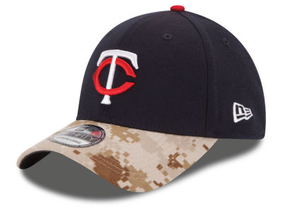 Minnesota Twins New Era MLB 2015 Memorial Day 39THIRTY Cap