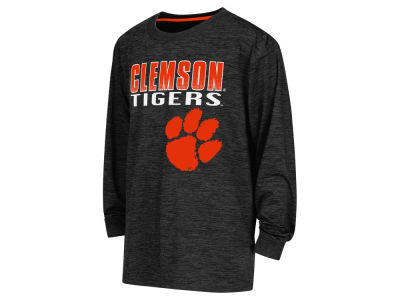 Clemson Tigers NCAA Youth Cornerback Poly Long Sleeve T-Shirt