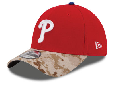 Philadelphia Phillies New Era MLB 2015 Memorial Day 39THIRTY Cap
