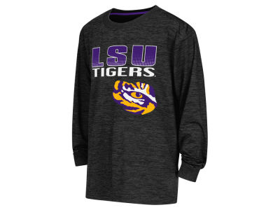 LSU Tigers NCAA Youth Cornerback Poly Long Sleeve T-Shirt
