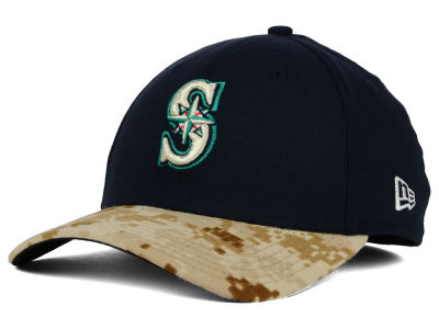 Seattle Mariners New Era MLB 2015 Memorial Day 39THIRTY Cap