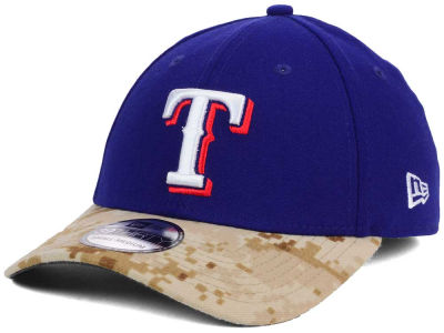 Texas Rangers New Era MLB 2015 Memorial Day 39THIRTY Cap
