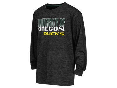 Oregon Ducks NCAA Youth Cornerback Poly Long Sleeve T-Shirt
