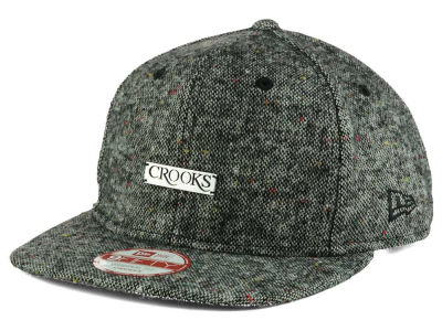 Crooks & Castles Metal Badge 9FIFTY Strapback Cap