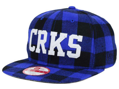 Crooks & Castles Flannel 9FIFTY Strapback Cap