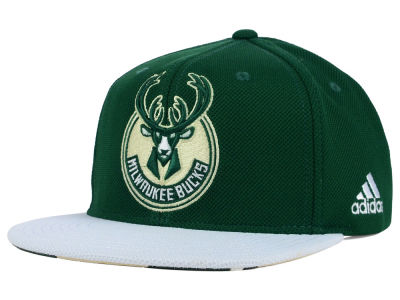 Milwaukee Bucks adidas 2015 NBA Draft Snapback Cap