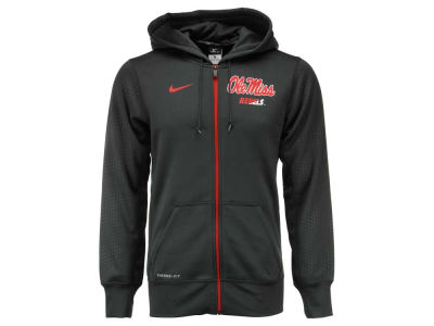 Ole Miss Rebels Nike NCAA Men's Sideline KO Full Zip Hoodie