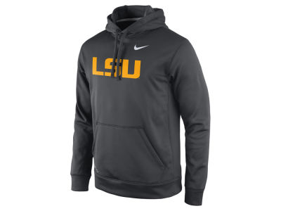 LSU Tigers Nike NCAA Men's Performance Practice Hoodie