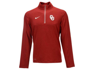 Oklahoma Sooners Nike NCAA Men's Game Day Half Zip Knit Pullover