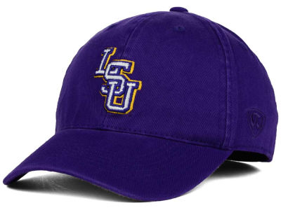 LSU Tigers Top of the World NCAA Relaxer 2.0 Stretch Hat
