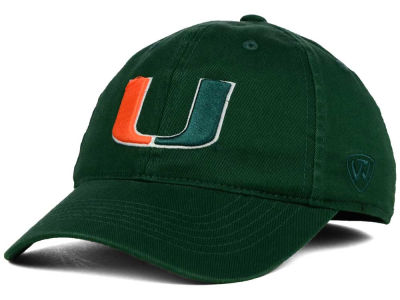 Miami Hurricanes Top of the World NCAA Relaxer 2.0 Stretch Hat