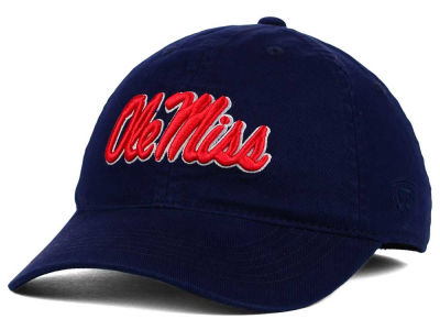 Ole Miss Rebels Top of the World NCAA Relaxer 2.0 Stretch Hat