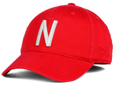 Nebraska Cornhuskers Top of the World NCAA Relaxer 2.0 Stretch Hat