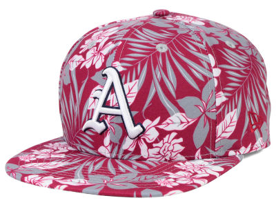 Arkansas Razorbacks New Era NCAA Wowie 9FIFTY Snapback Cap