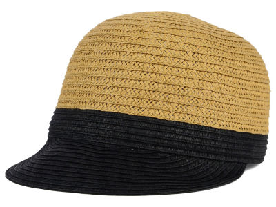 LIDS Private Label PL Womens Fitted Color Block Straw Cadet Hat