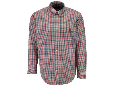 Ole Miss Rebels Vesi NCAA Men's Gingham Woven Button Up Shirt
