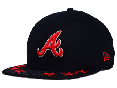 Atlanta Braves New Era MLB Star Viz 9FIFTY Snapback Cap