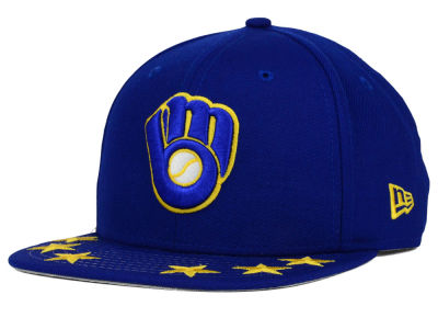 Milwaukee Brewers New Era MLB Star Viz 9FIFTY Snapback Cap