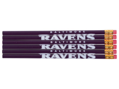 Baltimore Ravens 6-pack Pencils